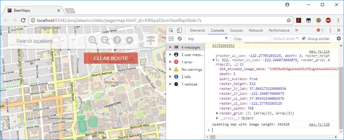 Project 3: Bear Maps, version 3 0 | CS 61B Spring 2018